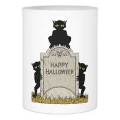 #Three Imps Happy Halloween Flameless Candle - #Halloween #happyhalloween #festival #party #holiday