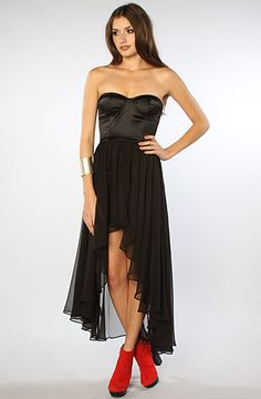 I don't need this dress, but boy do I want it!    The Dulce Bodice Dress in Black by Blaque Label