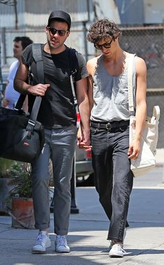 Zachary Quinto & Miles McMillan from The Big Picture: Today's Hot Pics