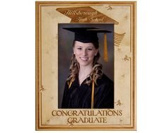 Looking for that perfect way to remember graduating high school? This personalized frame is the ideal way for your loved one to remember their accomplishment. This engraved Alderwood frame from Gift Works Plus is personalized so this memory can last a li Graduation Picture Frames, Graduation Pictures, Congratulations Graduate, College Graduation, New Chapter, Nostalgia, Celebration, High School, Memories