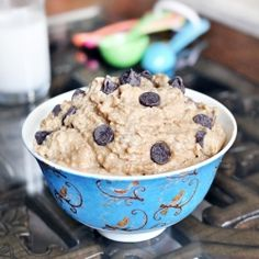 Want to eat a BIG bowl of cookie dough with absolutely no guilt? I need to try this