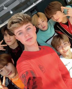 was nice to meet you boys 🇰🇷 Nct Dream with HRVY Nct 127, Jisung Nct, Taeyong, Jaehyun, Kpop, Nct Album, Nct Dream Chenle, Ntc Dream, Nct Dream Members