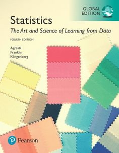 statistics the art and science of learning from data edition pdf for courses in introductory statistics the art and science of learning from data