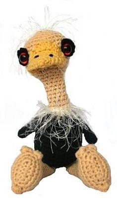 Ostrich Sally - $5.59 by Christel Krukkert