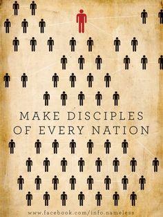 make disciples !