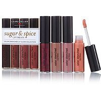 Laura Geller Beauty - Sugar & Spice Lip Treats 4 pc lip gloss set.  Very pigmented formula; great color variety, but the super artificial bakery sweet smell almost made me return it.