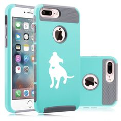 For iPhone SE 5 5s 6 6s 7 Plus Dual Shockproof Hard Case Cute Pitbull w/ Heart | Cell Phones & Accessories, Cell Phone Accessories, Cases, Covers & Skins | eBay!