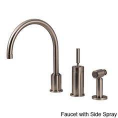 Water Creation Gooseneck Kitchen Faucet with Joy Stick Handle Loft Kitchen, Brass Handles, Bathroom Inspiration, Timeless Design, Contemporary Design, Home Improvement, Home And Garden, Garden Water, Kitchen Faucets