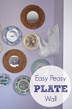 Easy plate wall www.ciburbanity.com