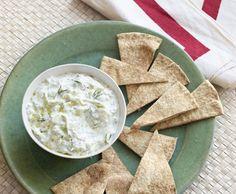 http://healthinfood.com/cucumber-yogurt-dip/