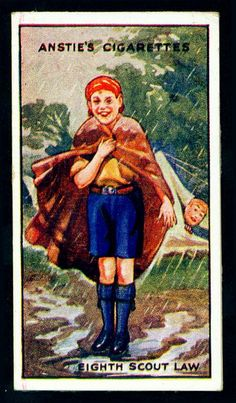 Cigarette Card - Scout Series #16 by cigcardpix, via Flickr