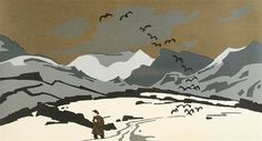 Find artworks by Sir Kyffin Williams (British, 1918 - on MutualArt and find more works from galleries, museums and auction houses worldwide. Winter Landscape, Landscape Art, Kyffin Williams, Tate Gallery, Snow Scenes, Winter Art, Art For Art Sake, Wood Engraving, Comic
