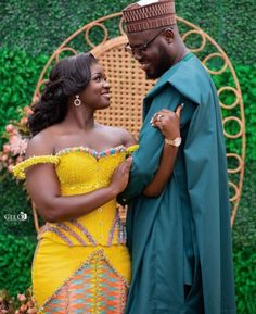 Kente Dress, Money Cant Buy Happiness, Black Bride, Ankara Styles, Traditional Wedding, Bridal Style, Culture, Couples, Slim