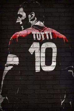 Francesco Totti As Roma 10 Italia Série a