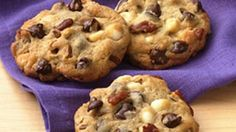 Lots of chocolate and loads of pecans make these scrumptious drop cookies doubly decadent! 4 dozen cookies