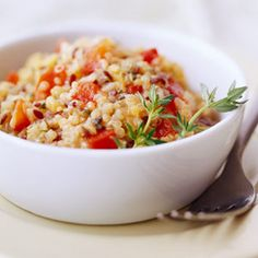 Southwest Quinoa Pilaf