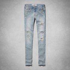 Womens AF Alyssa Super Skinny Jeans