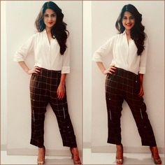 White is the new black for TVs Fashionista Jennifer Winget | PINKVILLA