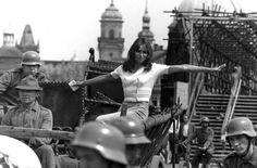 Watch This: The Magic Voice of a Rebel (Magický hlas rebelky) Prague Spring, Symbols Of Freedom, Korean War, Latest Music, Fulton, Vietnam War, Rebel, Documentaries, The Voice