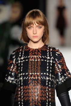 A closer look: sequin details from the Mulberry AW13 catwalk.