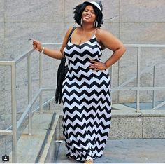I love black and white and the chevron print!!