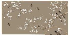 Lily Wallpaper, Tree Wallpaper, Custom Wallpaper, Photo Wallpaper, Flower Wallpaper, Chinese New Year Wallpaper, Magnolia Trees, Cleaning Walls, Smooth Walls