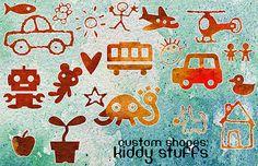 free-kiddy-stuff-photoshop-custom-shapes