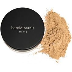 BareMinerals Matte Foundation is clinically proven to minimize the appearance of pores. This loose mineral foundation gives you all the flawless coverage you need with a natural matte finish. Available at Walmart.com.