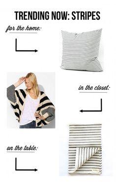 Trending Now: Stripes! | www.gimmesomestyleblog.com