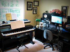 Set up a small home studio...