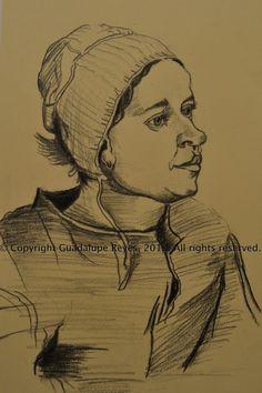 Drawing-7-En Honor a Van Gogh Pencil on paper 2012