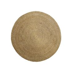Nature Rug by Bloomingville - round carpet made of seagrass in two sizes Now available in the Connox shop! Natural Living, Seagrass Rug, Interior Design Programs, House Doctor, Home Fragrances, Textile Patterns, Living On A Budget, Table Linens, Unusual Gifts