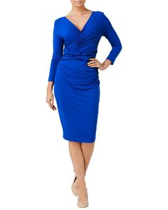 All Sale | Blue Sylvia Dress | Phase Eight
