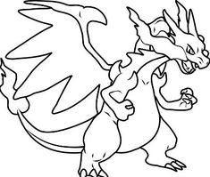 pokemon coloring pages charizard.html