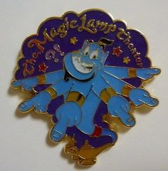 Tokyo Disney Sea Attraction The Magic Lamp Theater Pin Genie TDR TDS Japan