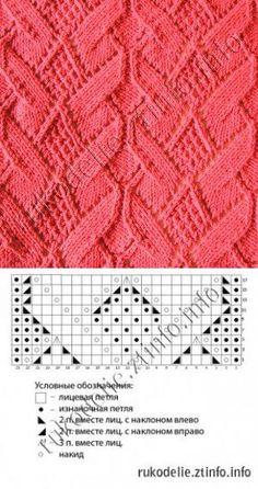 Red Knitting Patterns...♥ Deniz ♥.