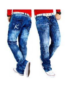 Kosmo Lupo Herren Jeans KM-080 W32/L32