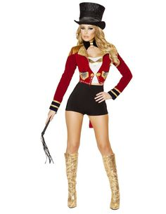 Seductive Circus Leader – Charmed Costumes