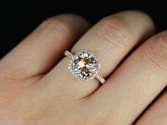 Rose gold wedding ring. Yes.
