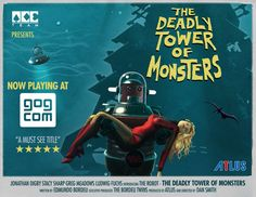 The Deadly Tower of Monsters, the silliest #SciFi #BMovie #videogame from #theACETeam is now available on #GOGcom!   https://www.gog.com/news/release_the_deadly_tower_of_monsters