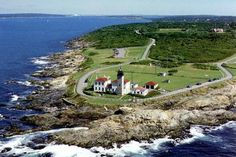 Beaver Tail Park, Jamestown, RI  OMG I simply LOVE LOVE LOVE this place!   My favorite area is just in front of the light house and to the right (viewers right).   Stunning