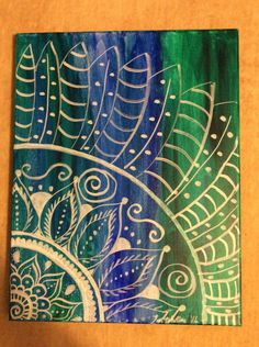 Inner Peace by PaintingsbyTeri on Etsy