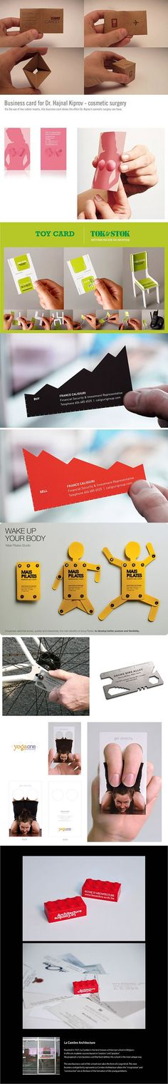 [Tarjetas de Visita Creativas]  creative business cards