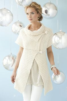 crochet swing cardigan - via ravelry.com