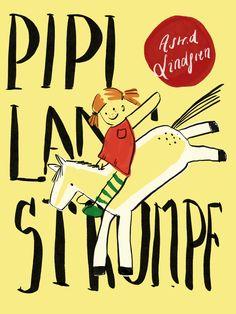 #book #bookcover #illustration #pipi #langstrumpf #children #childrensbook