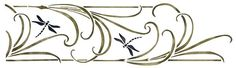 Check out the deal on Mission Dragonfly Stencil at American Home Stencils