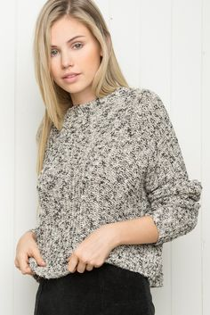 Brandy Melville | Careen Sweater - Sweaters - $42