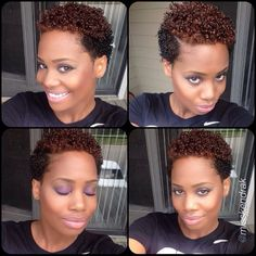 TWA. To learn how to grow your hair longer click here - http://blackhair.cc/1jSY2ux
