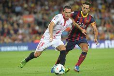 4ª jornada Liga BBVA. FC Barcelona 3-2 Sevilla FC