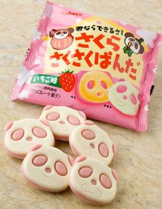 26 ideas for cookies cute japanese sweets Japanese Snacks, Japanese Candy, Japanese Sweets, Cute Japanese, Japanese Food, Cute Snacks, Cute Desserts, Cute Food, Yummy Food